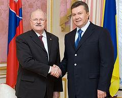 Гашпарович и Янукович