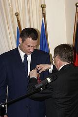 Фото: Посол Гаймзет вручил Виталию Кличко Федеральный орден за заслуги
