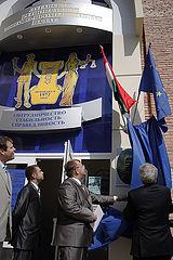 Открытие Почетного Консульства Венгрии в Луганске