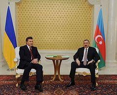 Президенты Украины и Азербайджана