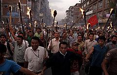 Забастовки в Непале